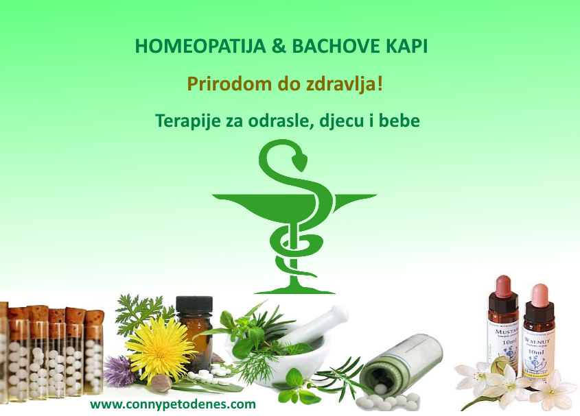 Homeopatija reklama